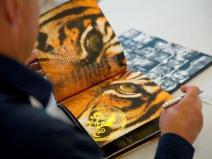 Printing-papers-End-use-Book-with-tiger-picture