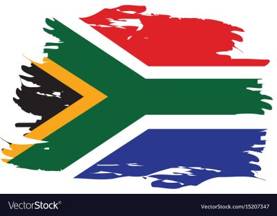 isolated-south-african-flag-vector-15207347